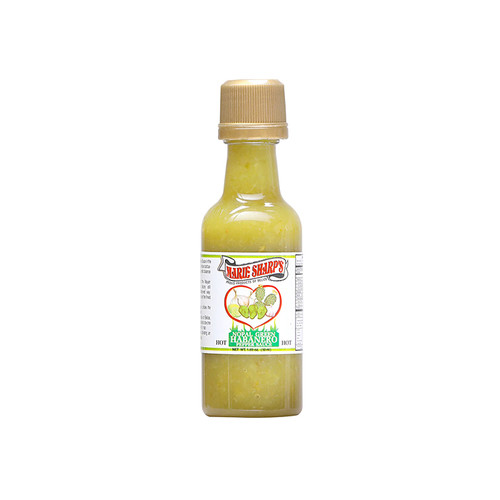 Green Habanero Mini Hot Sauce with Cactus, 50ml