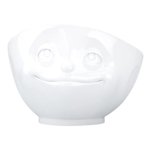Porcelain White Bowl - Dreamy Face Edition, 500ml