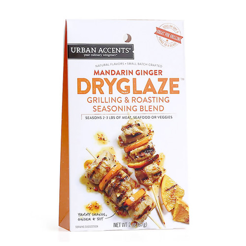 Dryglaze Seasoning - Mandarin Ginger, 57g