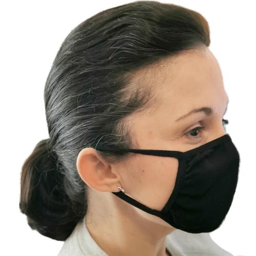 Face Mask - Large, Black