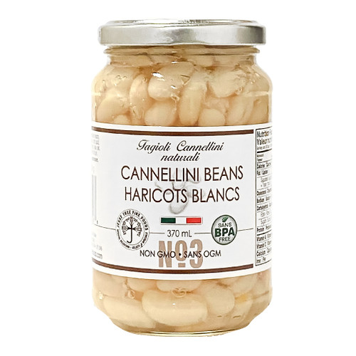 Cannellini Beans No3 - Glass Jar, 370ml