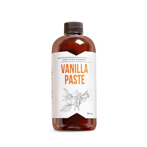 Vanilla Paste - Mexican Vanilla, 16oz