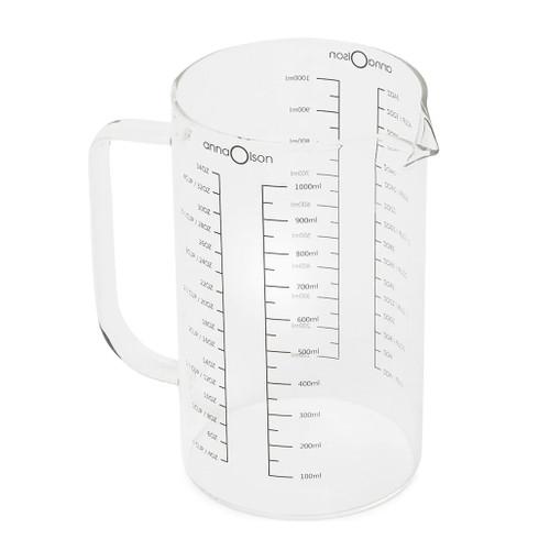 Measuring Carafe - Borosilicate Glass, 1000ml