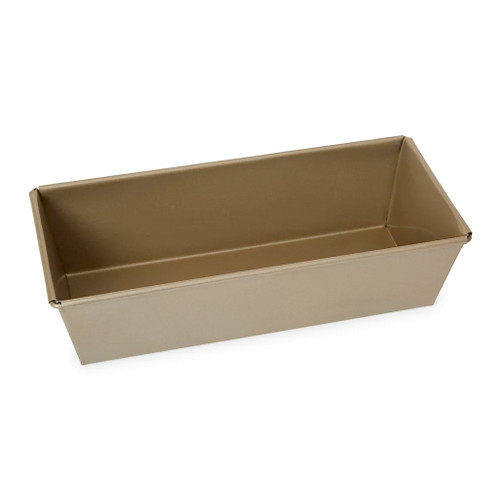 Loaf Pan European Style - Gold Nonstick, 8.9 x 3.2-in