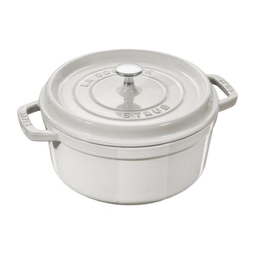 Cocotte Round Cast Iron - White Truffle, 5.2L