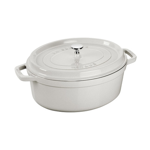 Cocotte Oval Cast Iron - White Truffle, 4.25L