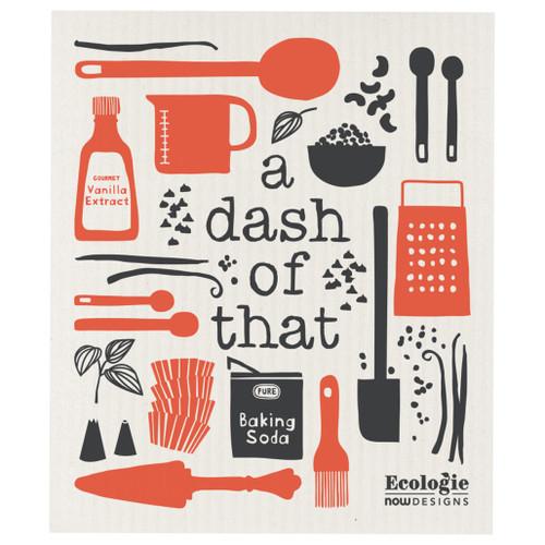 Swedish Dishcloth - A Dash of That, 6.5 x 8-in