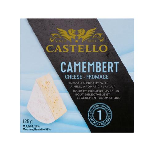 Camembert Danish Cheese - Shelf Stable, 125g