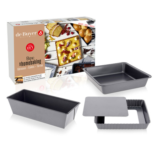 Homebaking Cakes + Tart Box - Ltd Edition, 3 Piece