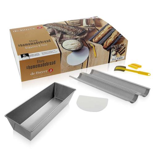 Homemade Baguette + Bread Box - Ltd Edition, Set of 4