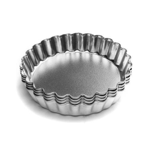Tarlet Pan - Loose Bottom, Set of 4