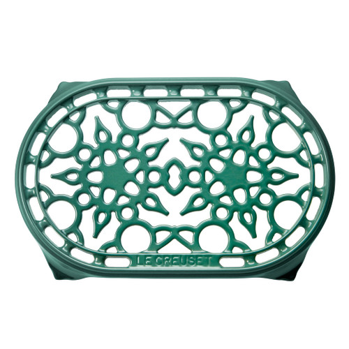 Artichaut Deluxe Oval Trivet - Enamelled Cast Iron