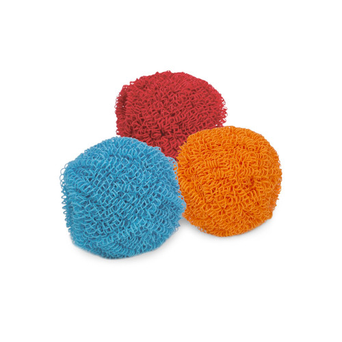 Scratch-Resistant Scourers - Assorted Colours, Set of 3