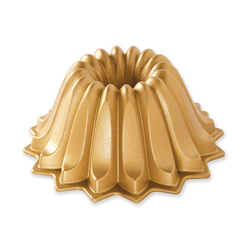 Lotus Bundt Pan - Gold, 5 Cup