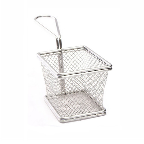 Personal French Fry Basket - Stainless Steel, 4-in