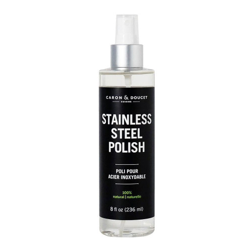 Stainless Steel Polish - 100% Natural, 8oz