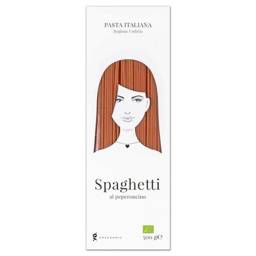 GHD - Spaghetti al Peperoncino Organic - Chili Peppers, 500g