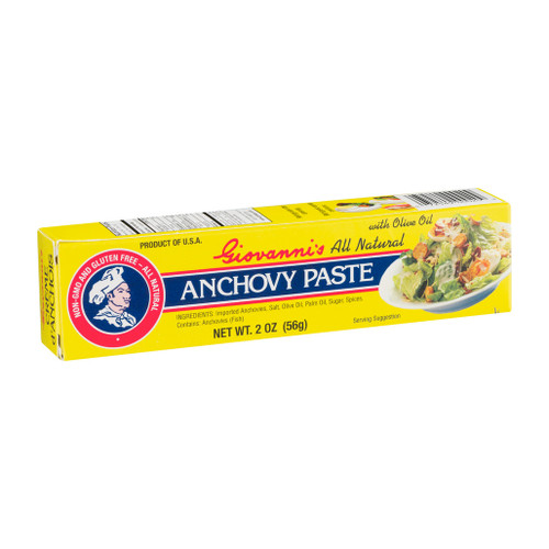 Anchovy Paste with Olive Oil, 56g ***