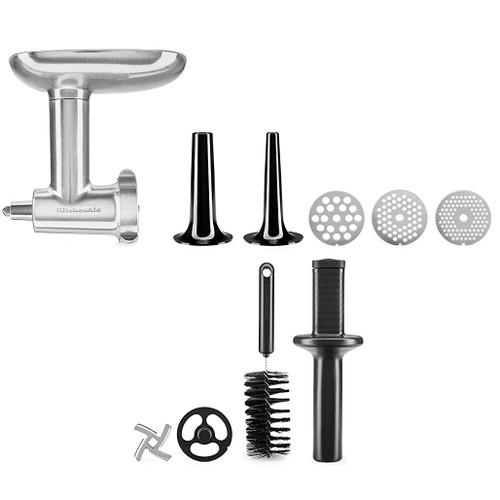 Food Grinder Stand Mixer - Attachment Set, Metal