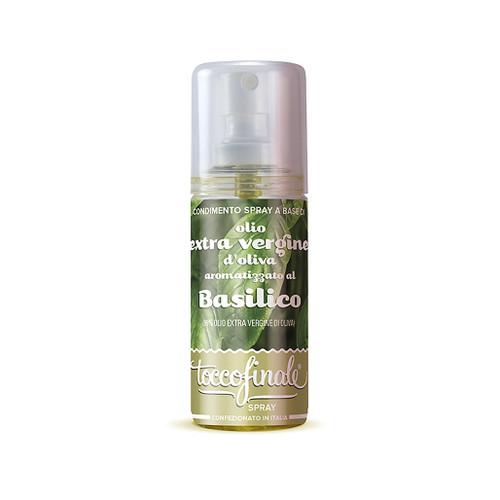 Basil Infused Olive Oil - Spray Bottle, 60ml