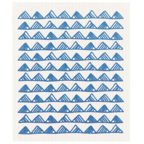 Swedish Dishcloth - Royal, 6.5 x 8-in