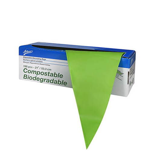 Compostable Biodegrabable Pastry Bags - 21-in, 100 Bags