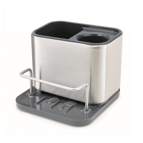Surface Sink Tidy Organizer - Stainless Steel, Small