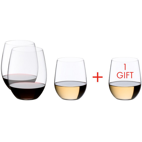 O Tumbler Pay 3 Get 4 Cabernet + Viognier, Box of 4