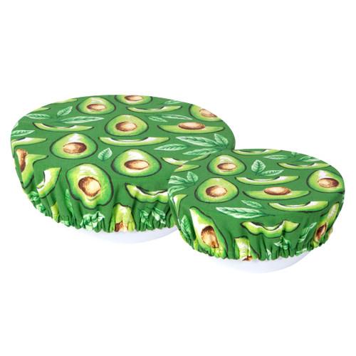 Bowl Covers - Avocados, Set of 2