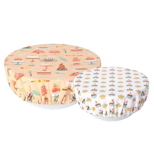 Bowl Covers - Cake Walk, Set of 2