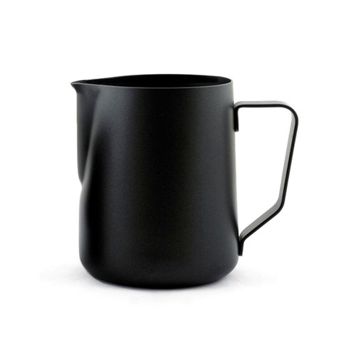 Milk Frothing Pitcher - Black Satin Stainless, 24oz
