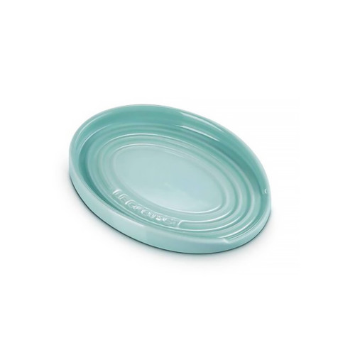 Sage Oval Spoon Rest - Stoneware