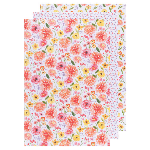 Baker's Floursacks - Floral, Set of 3