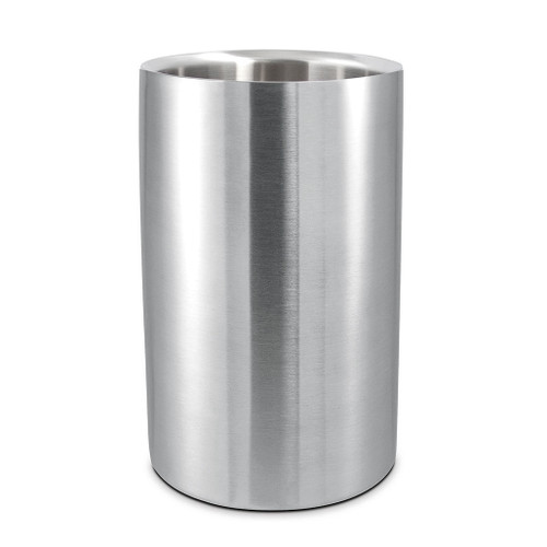 Wine Cooler Double Wall - Satin Stainless, 19x12cm