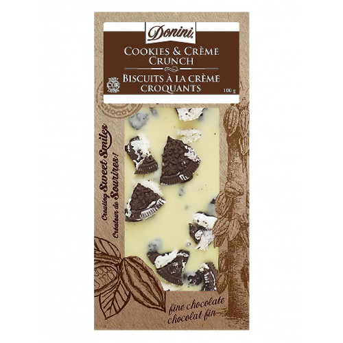 Gourmet Bar - White Chocolate Cookies & Crème Crunch, 100g