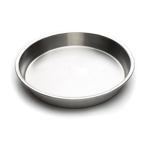 Round Cake Pan, Stainless Steel, 9-in
