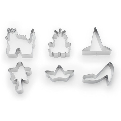 Fairy Tale Cookie Cutters, Set of 6