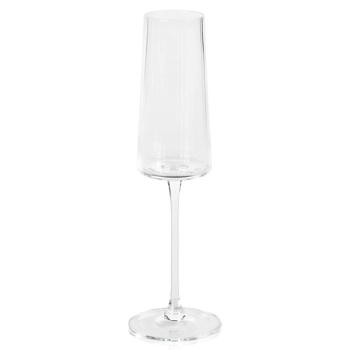 Fluted Textured Champagne Flute - Bandol Collection