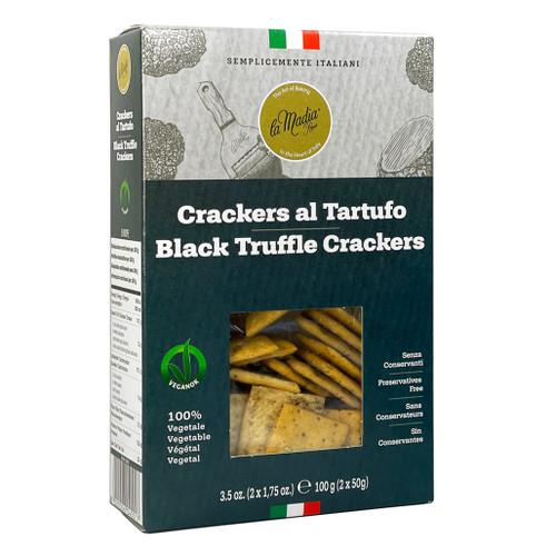 Black Truffle Crackers, 100g