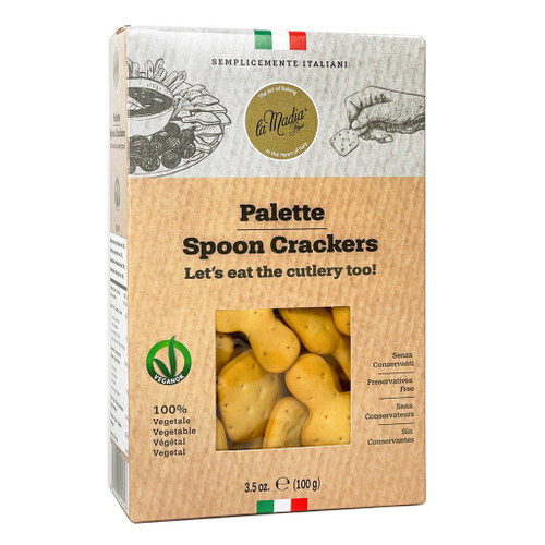 Palette - Spoon Shaped Crackers, 100g