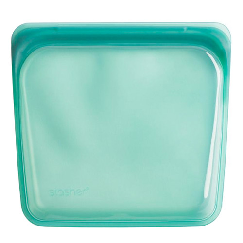 Reusable Silicone Storage Bag - Regular, Waterfall Green