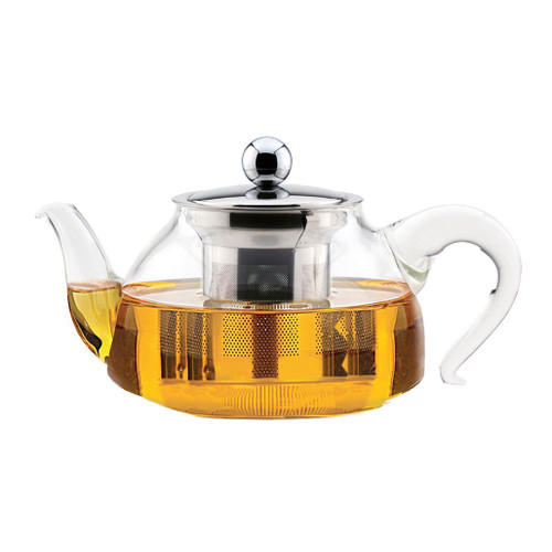 Miranda Glass Teapot with Stainless Steel Infuser