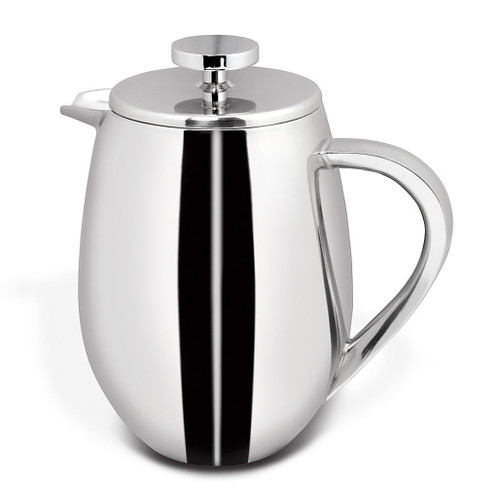 French Press - Double Wall Stainless Steel, 1L
