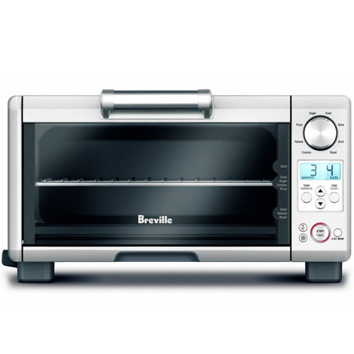 Mini Smart Toaster Oven - Brushed Stainless