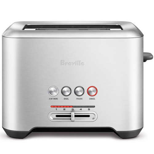 Bit More 2-Slice Toaster - Stainless Steel