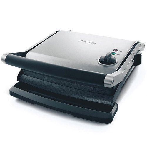 Panini Grill & Sandwich Press - Brushed stainless