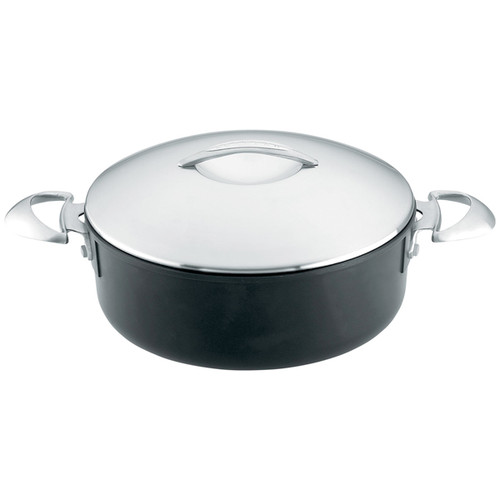 Low Sauce Pot with Lid - Professional Series, 5.5Qt