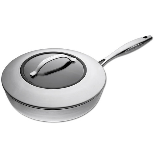 Scanpan CTX Saute Pan with Lid, 28cm