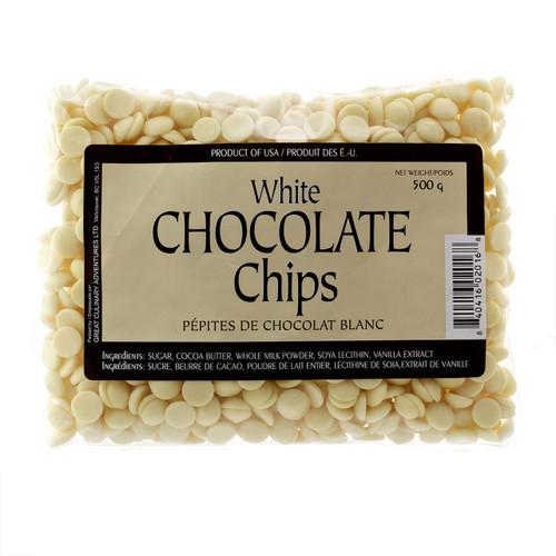 White Chocolate Chips, 500g