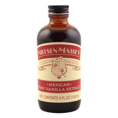 Mexican Pure Vanilla Extract, 4oz